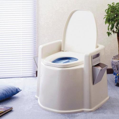 幸和製作所 テイコブ ポータブルトイレ (肘掛け付) PT02