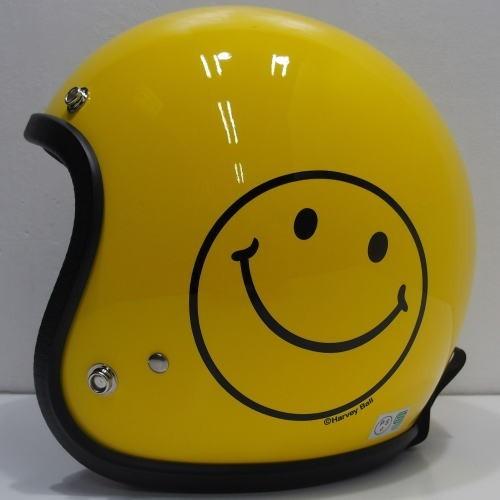 TOYS McCOY(トイズマッコイ)BUCO(ブコ)HELMET [SMILE BUCO-Baby Buco/限定生産モデル]スマイリーフェイス イエロー ベビー・ブコ レイト ヘルメット!