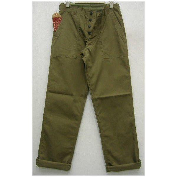 THE REAL McCOY'S(这种真实麦科伊)HBT TROUSERS[1947 PATTERN]贝克裤子/裤子!