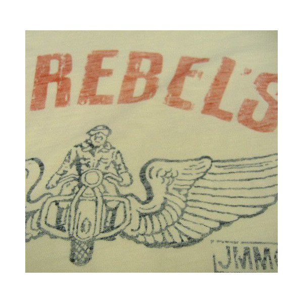 Johnson Motors(约翰逊马达)Made in U.S.A.[13 REBELS]短袖T恤!