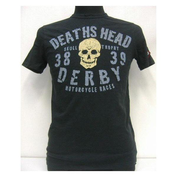 Johnson Motors(约翰逊马达)Made in U.S.A.[Death Head Derby]短袖T恤!