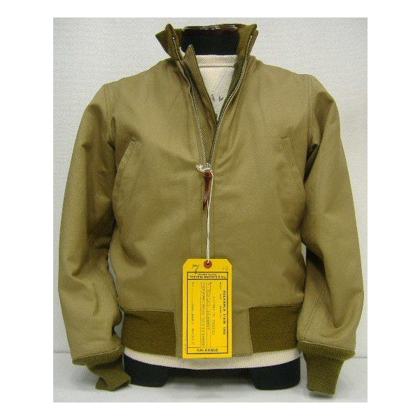 THE REAL McCOY'S(真实麦科伊)TANKERS[WINTER COMBAT JACKET]油轮/军事飞行员茄克!
