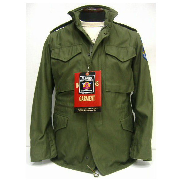 真货 (realmaccoise) M-65 夹克 [APACHE 航空童子军] / 飞行夹克 !