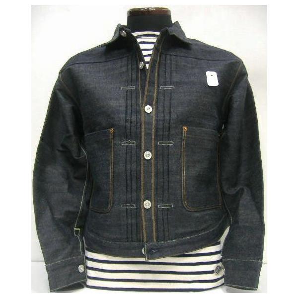 LEVI ' S-XX (Levi's) 老式服装/归档 [三重褶上衣夹克了美国]三打褶上衣/g-吉恩 / 牛仔夹克 !