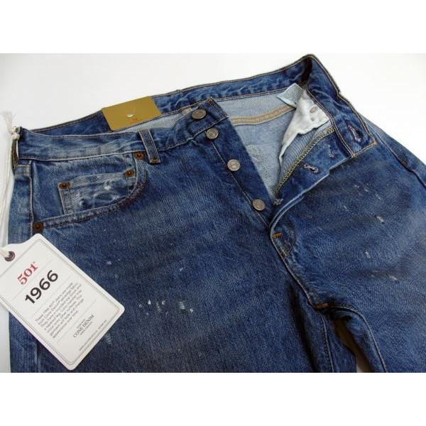 [季节性要点 Bottoms/Lot.66501' LEVI ' S-XX (李维斯) 老式服装复古 / 牛仔裤 / 翻拍 / 损坏 / 心疼 !