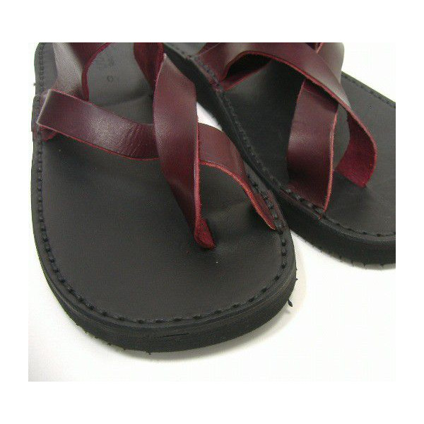FRACAP (FL 杯) [Vacchetta 皮革凉鞋/Infradito] ~ 意大利制造 ~ 皮革 / 皮革凉鞋!