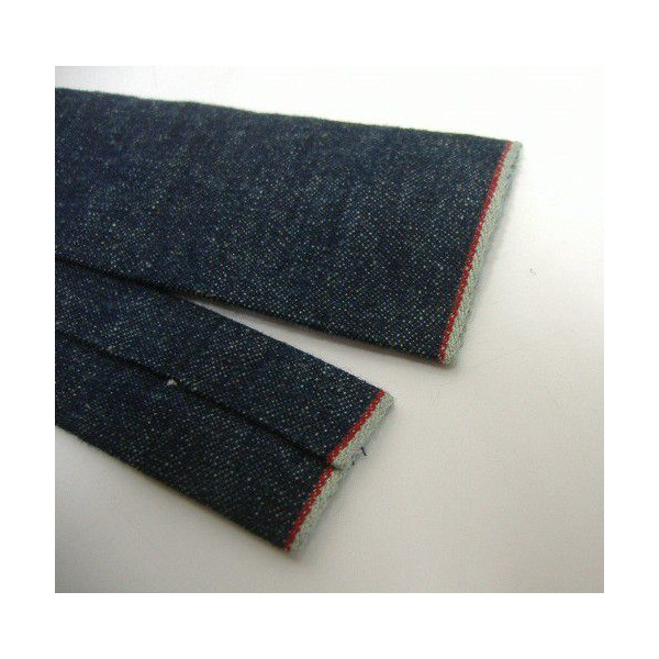 Hill-Side(小山旁边)[Lightweight Selvedge Hemp Denim Tie]Made in New York City领带/休闲泰国!