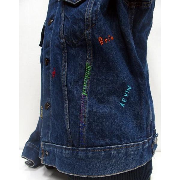 SHANANA MIL (shananamil) [李维斯复古第三类型牛仔夹克,在美国取得 3 / 跟踪/g 牛仔牛仔夹克!