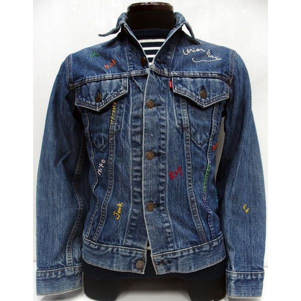 SHANANA MIL(シャナナミル)[Vintage Levi's 3rd Type Denim Jacket]Made in U.S.A. 3rd/トラッカージャケット/Gジャン/デニムジャケット!