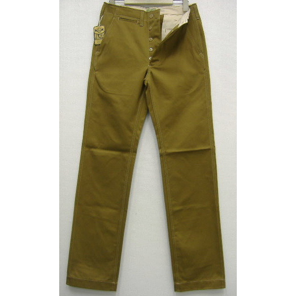 JOE McCOY(乔麦科伊)by THE REAL McCOY'S COTTON TROUSERS[BLUE SEAL/040]卡其色系短裤/裤子!