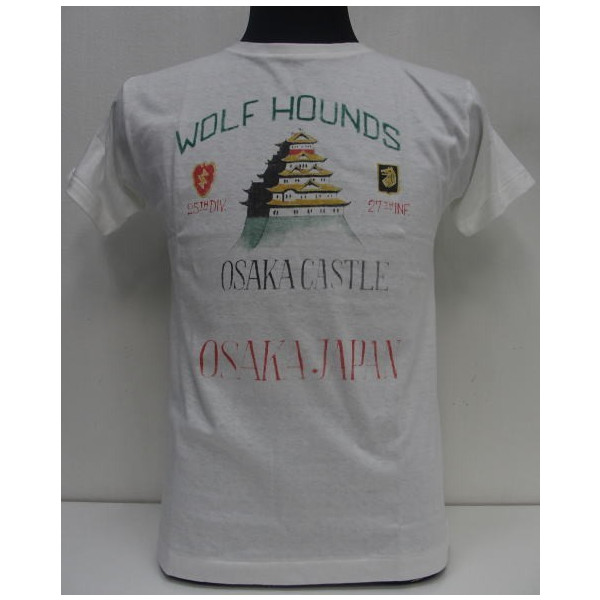 HELLER'S CAFE(ヘラーズカフェ)by WAREHOUSE [Original T-Shirts/WOLF HOUNDS/Lot.HC-M13]半袖T-シャツ!