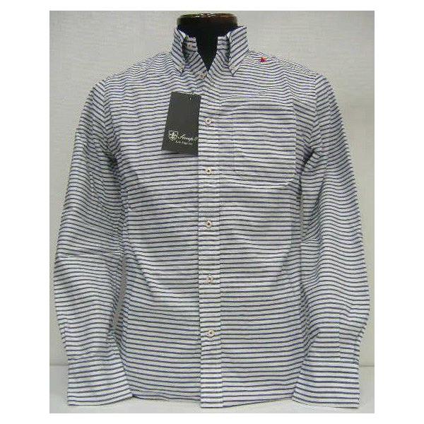 Sweep(スウィープ)[Oxford B/D Border Shirts]2014ボーダー/ボタンダウンシャツ/オックスフォード/長袖シャツ/正規特約店!