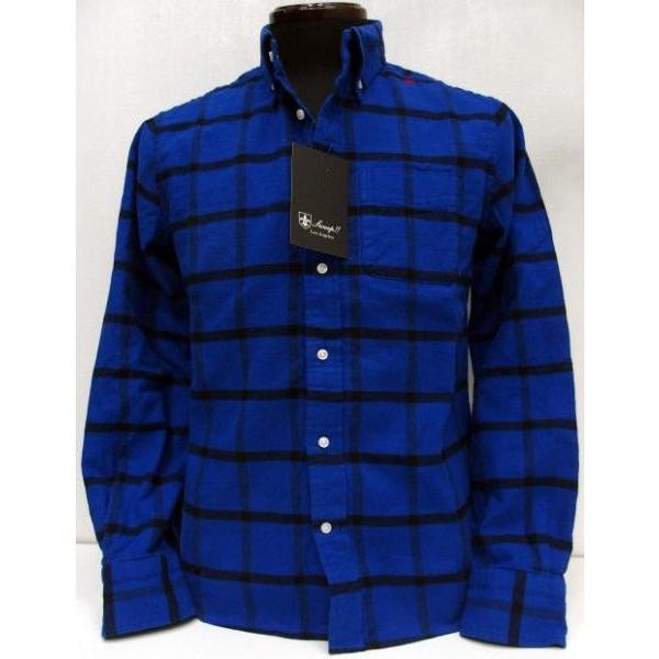 Sweep!!(スウィープ)[Heather Twill Flannel Button Down Shirts]タータンチェック/オールドチェック/フランネル/ボタンダウン/長袖シャツ!