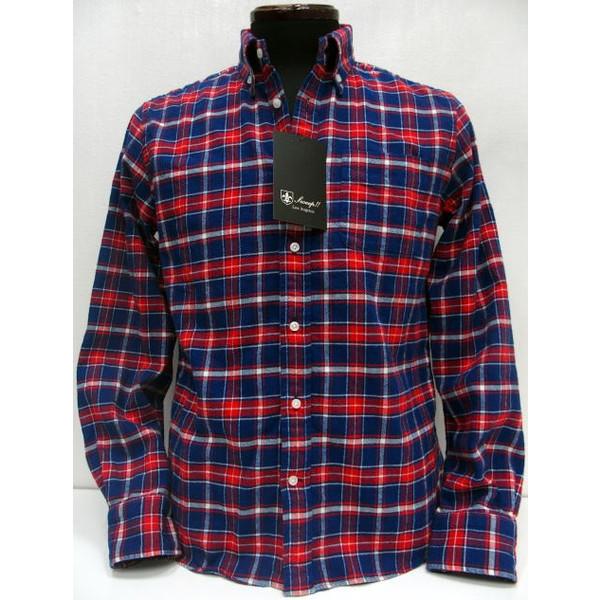 Sweep!!(スウィープ)[Light Flannel Button Down Shirts] タータンチェック/オールドチェック/フランネル/ボタンダウン/長袖シャツ!