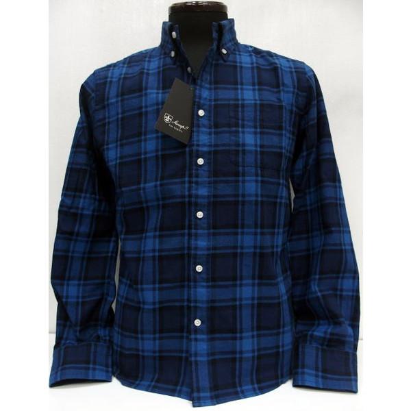 Sweep!!(スウィープ)[Indigo Viyella Button Down Shirts]インディゴ/チェックシャツ/ボタンダウンシャツ/長袖シャツ!