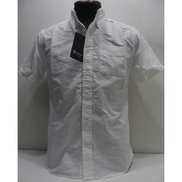 Sweep!!(スウィープ)[Standard Button Down Shirts-Short Sleeve/LIMITED EDITION]限定カラー オックスフォード ショートスリーブ ボタンダウンシャツ 無地 ホワイト 半袖シャツ!