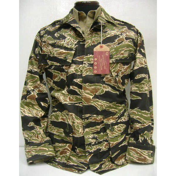 真货 (realmaccoise) [虎广告疲劳夹克,长袖 shirtjacket / 军事 / 飞行夹克 !