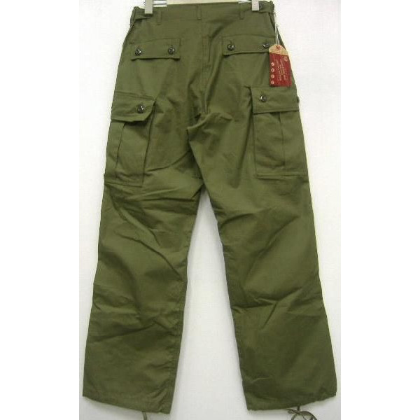 THE REAL McCOY'S(这种真实麦科伊)[JUNGLE FATIGUES 1st]货物裤子/军事裤子/大音阶第四音蒂格裤子!