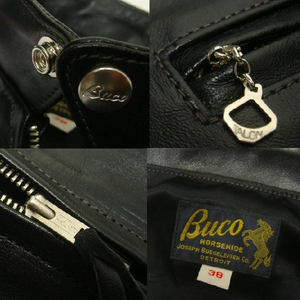 THE REAL McCOY'S(这种真实麦科伊)BUCO(buko)[J-100 JACKET/CYCLE PSYCHO]骑手/皮夹克!