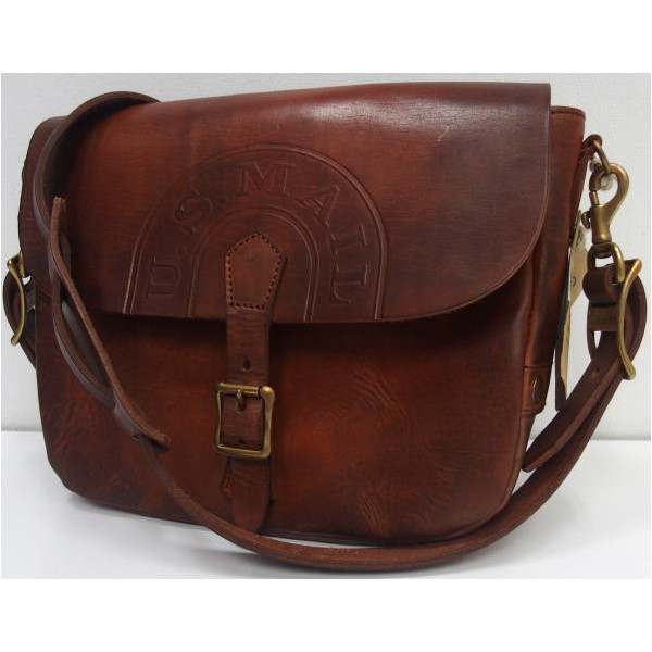 Vasco U S Mail Shoulder Bag Leather Postman Mini On Cow