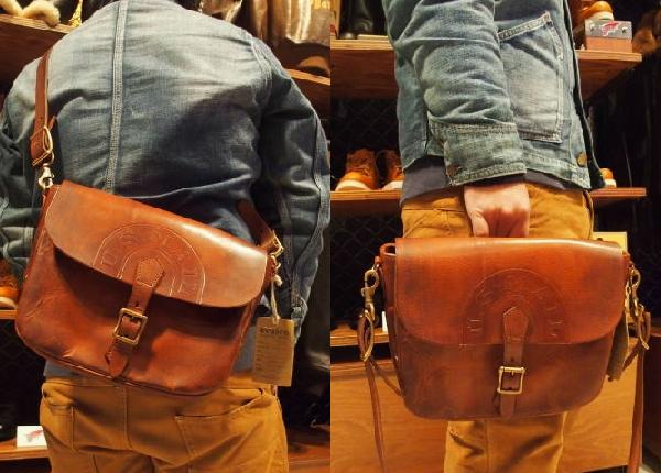 Vasco U S Mail Shoulder Bag Leather Postman Mini 8