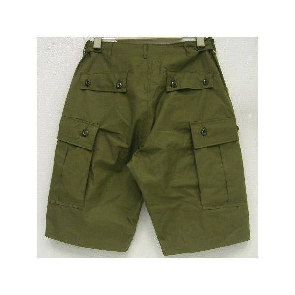 THE REAL McCOY'S(这种真实麦科伊)Military Short Pants[JUNGLE FATIGUES 1st/SHORTS]短裤/货物裤子/军事裤子/大音阶第四音蒂格裤子! !