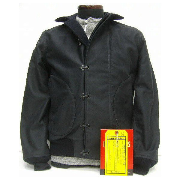 THE REAL McCOY'S(真实麦科伊)Military Jacket[BLUE COLD WEATHER JACKET]军事/航班/甲板茄克!