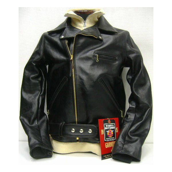 THE REAL McCOY'S(真实麦科伊)BUCO(buko)Leather Jacket[JH-1 JACKET]皮夹克/W/骑手茄克!