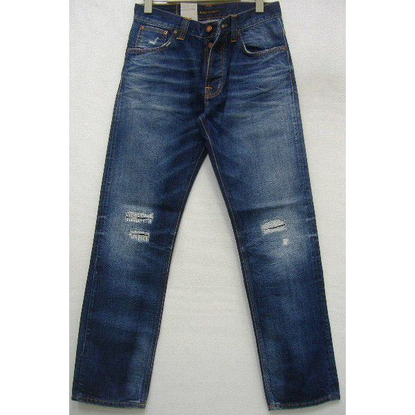 Nudie Jeans(ヌーディージーンズ)[Straight Alf/Organic Blue Quill] Made in Italy ストレートアルフ/ボトムス/ジーンズ