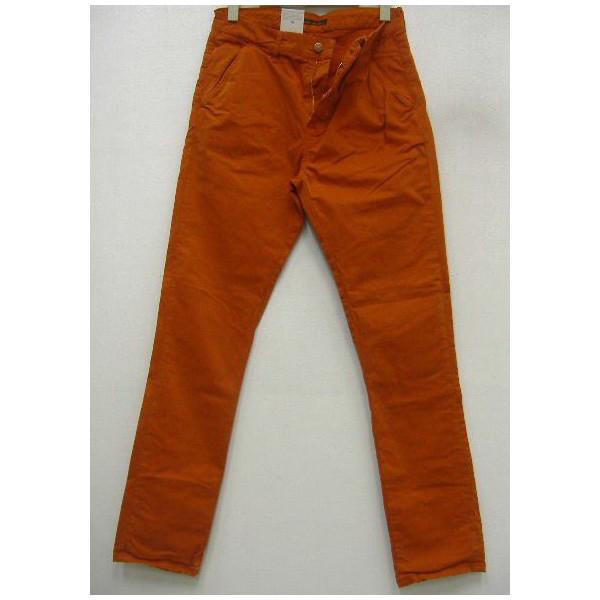 Nudie Jeans(ヌーディージーンズ)[Khaki Slim/Organic Warm Orange-245]Made in Tunisia スキニーフィット/ボトムス/カーキチノ!