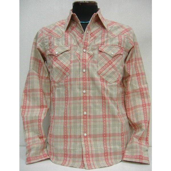 JOE McCOY(乔麦科伊)by THE REAL McCOY'S[JM DOBBY CLOTH WESTERN SHIRT Lot.109]长袖子衬衫/西部衬衫!]