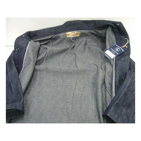THE REAL McCOY'S(真实麦科伊)Military Jacket[U.S.NAVY DENIM JUMPER]军事/粗斜纹布茄克!