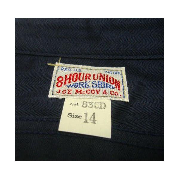 JOE McCOY(乔麦科伊)by THE REAL McCOY'S[8HU HBT WORK SHIRTS Lot.536D]工作衬衫/长袖子衬衫!