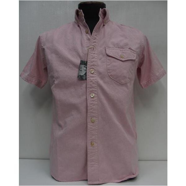 COLIMBO(コリンボ)[Richmond Boro Button Down Shirt/Short Sleeve]ボタンダウンシャツ/オックスフォード/半袖シャツ/日本製!