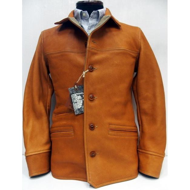 COLIMBO(コリンボ)[Stockman's Coat/Deer Skin]ストックマンズコート/ワークコート/カーコート/レザーコート/ハーフコート/鹿革/日本製!