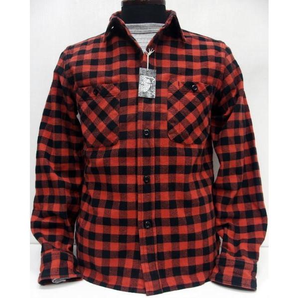 COLIMBO(コリンボ)[Richmond-Boro Work Shirt/Flannel]フランネル/ネルシャツ/長袖シャツ/日本製!
