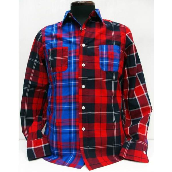 SEVESKIG(セヴシグ)Long Sleeve Shirts [Crazy Shirt]クレイジー/チェックシャツ/長袖シャツ!