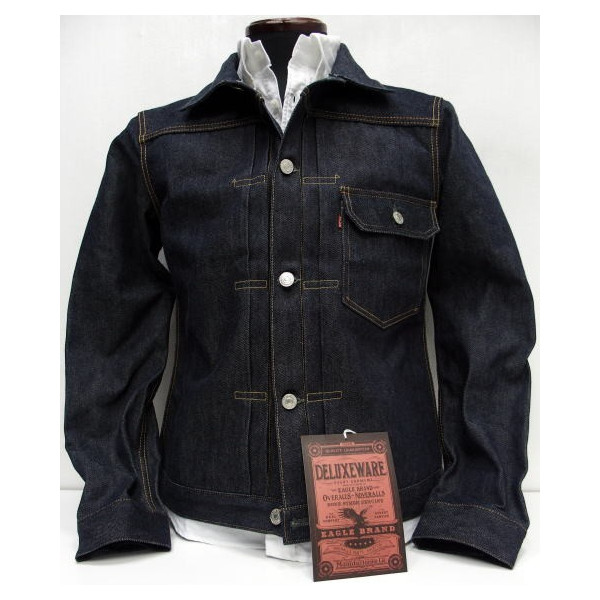 95cf32a3f Deluxeware (Deluxe software) [1 st. Denim Jacket/Lo.DX401xx 14.3 oz] TYPE  1st / denim / denim jacket and Japan-made!