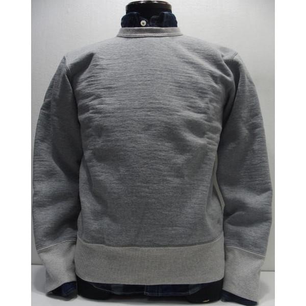 Deluxeware(デラックスウエア)[40' Heavy Sweater/Lot.S103P-Gray]ショートレングス/スウェット/クルー/セットインスリーブ/吊り編み/日本製!