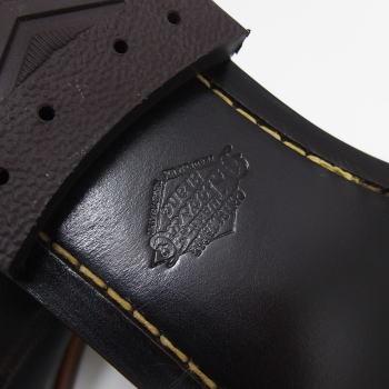 多利的 Co 服装由 Deluxeware [斯塔克曼的靴子/皮革唯一堆栈触发器提供 / 凉鞋 / 皮革 / 日本制造 !