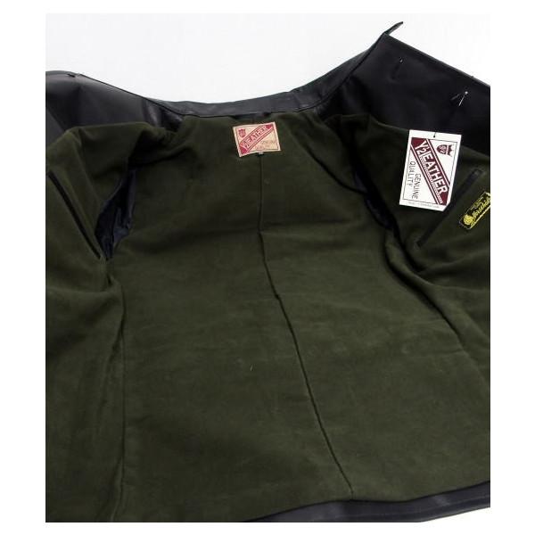 Y ' 2 皮革 (与皮革) [高压马单车手夹克,毡合和汽车外套和半法庭和马皮与马皮革 / 日本制造的 !