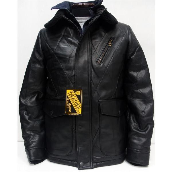 Y'2 Leather(ワイツーレザー)[Steer Oil Thinsulate Racing Jacket]レーシングジャケット/レザーコート/ハーフコート/キルティングジャケット/3M シンサレート/ステアオイル/牛革/日本製!