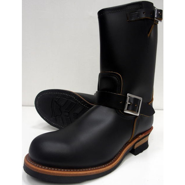 RED WING(レッドウィング)[Style No, 9268/ENGINEER BOOTS]【RED WING JAPAN 正規特約店】Made in U.S.A./エンジニアブーツ/ブラック/茶芯/セレクトショップ限定モデル!