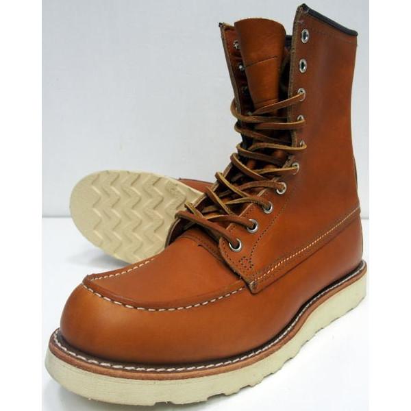 RED WING(レッドウィング)[Style No, 9877/Irish Setter/Gold Russet-Sequoia]【RED WING JAPAN 正規特約店】Made in U.S.A./ワークブーツ/アイリッシュセッター/ゴールド・ラセット/犬タグ/セレクトショップ限定モデル!