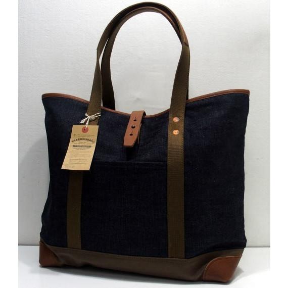 Warehouse Denim Tote Bag Lot 5212 1