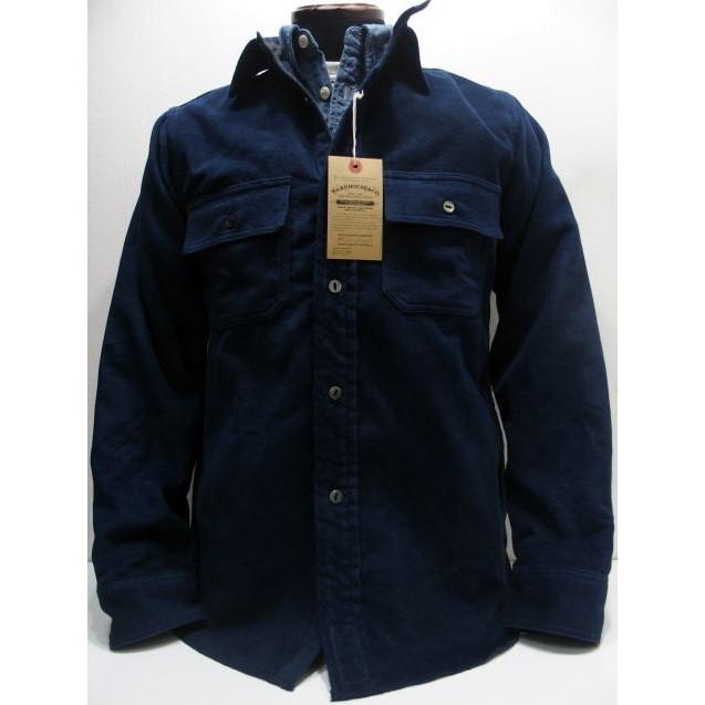 Duck Digger by WAREHOUSE [COTTON BLANKET SHIRTS/Lot.3094] コットンブランケットシャツ シャツジャケット 長袖シャツ Lot.3094 日本製!