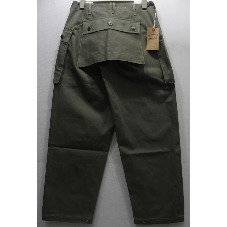【再入荷】WAREHOUSE(ウエアハウス) Military Pants [USMC Herringbone Monkey Pants/Lot.1097]ミリタリーパンツ ヒップポケット モンキーパンツ ヘリンボーン Lot 1097 日本製!