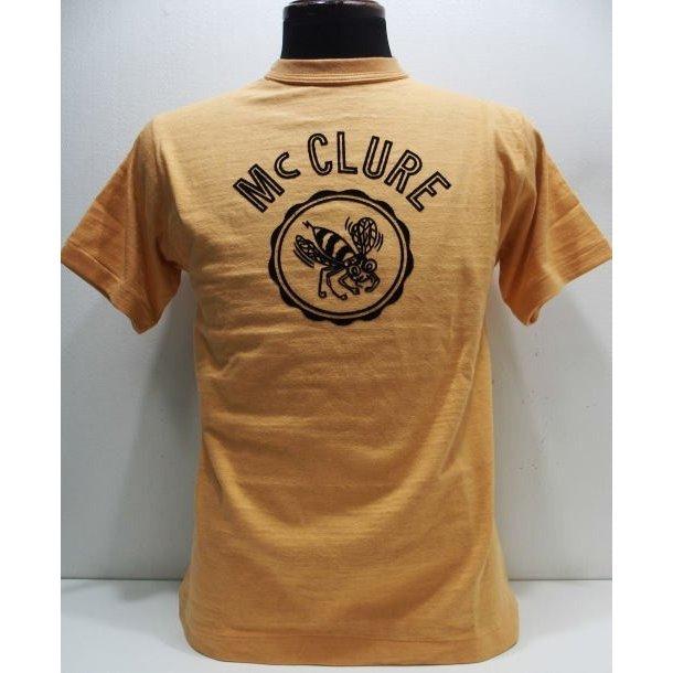2019 Spring Summer Collection 春夏新作モデル WAREHOUSE 送料無料(一部地域を除く) ウエアハウス Original ローゲージ編み Tee 4601 アイテム勢ぞろい CLURE-Orange CLURE Mc Tシャツ Lot.