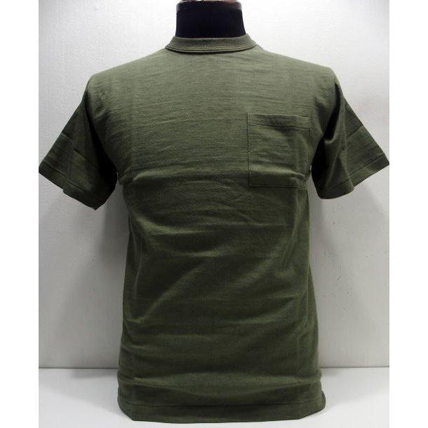 WAREHOUSE(ウエアハウス)Original Tee [Lot. 4601/Pocket Tee-Olive]Tシャツ ポケットT ローゲージ編み 無地