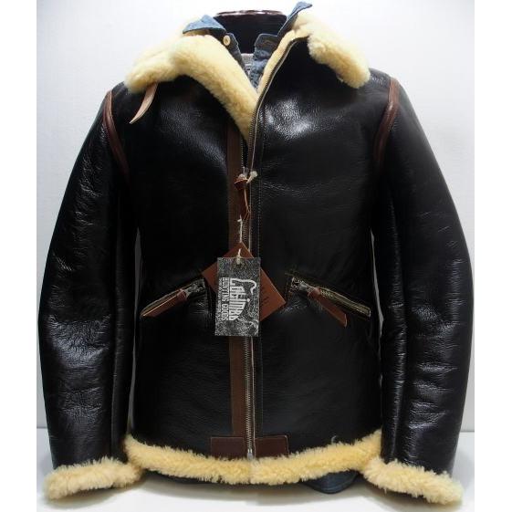 COLIMBO(コリンボ)[D-1 Type Mouton Jacket/Monkey's Taxide]D-1/シープスキン/レザージャケット/アウター日本製!